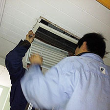 小型空调维修