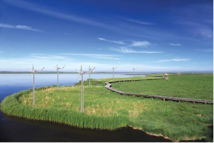 风能曝气工程