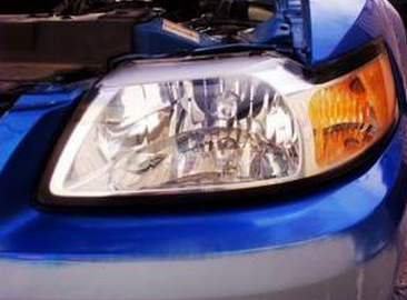 汽车大灯工业结构图