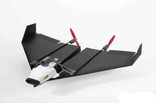 能够用谷歌眼镜虚拟遥控的纸飞机