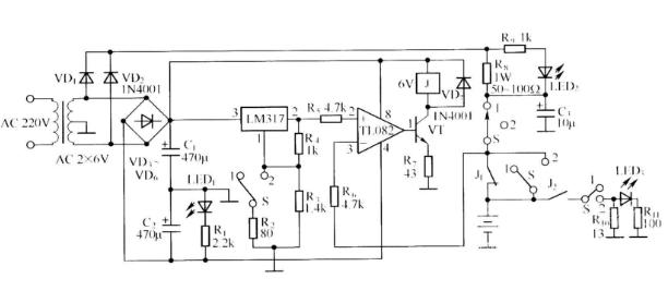 当3842停止工作时,充电器输出电压开始下降,充电电流开始下降,r1电阻
