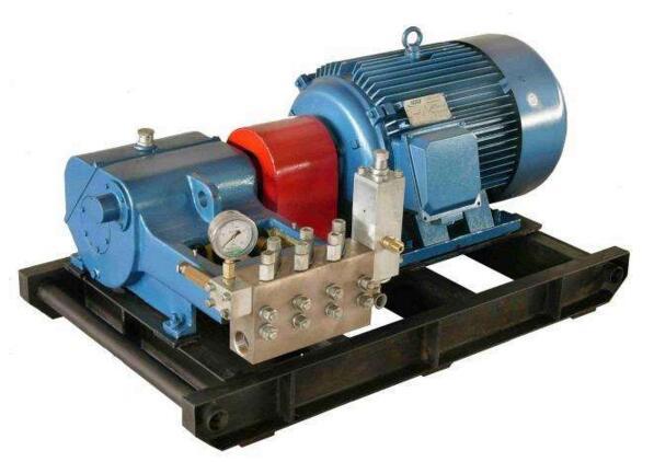 """""""    高压柱塞泵是高端液压装备的核心元件,被称作液压系统的""""心脏"""".图片"""