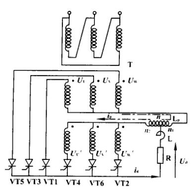 串联电抗器的作用是与电容器串联,对规定的n次谐波分量构成串联谐振