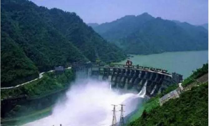 武义水电站成生态公园