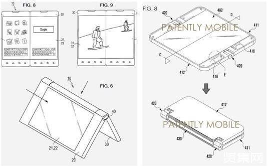 图4:可折叠智能手机的内部设计