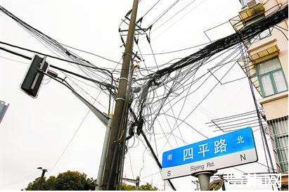 上海已完成99公里架空线入地及合杆整治