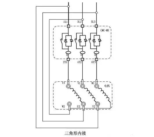 电机软启动器的分类,接线方法及常见故障