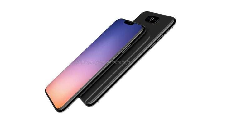 """苹果""""iphone xi""""渲染图:方形相机单元 环形闪光灯"""