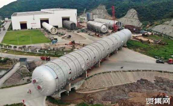 中国造全球最大常压塔启运尼日利亚 助力全球最大单系列炼厂-贤集网资讯