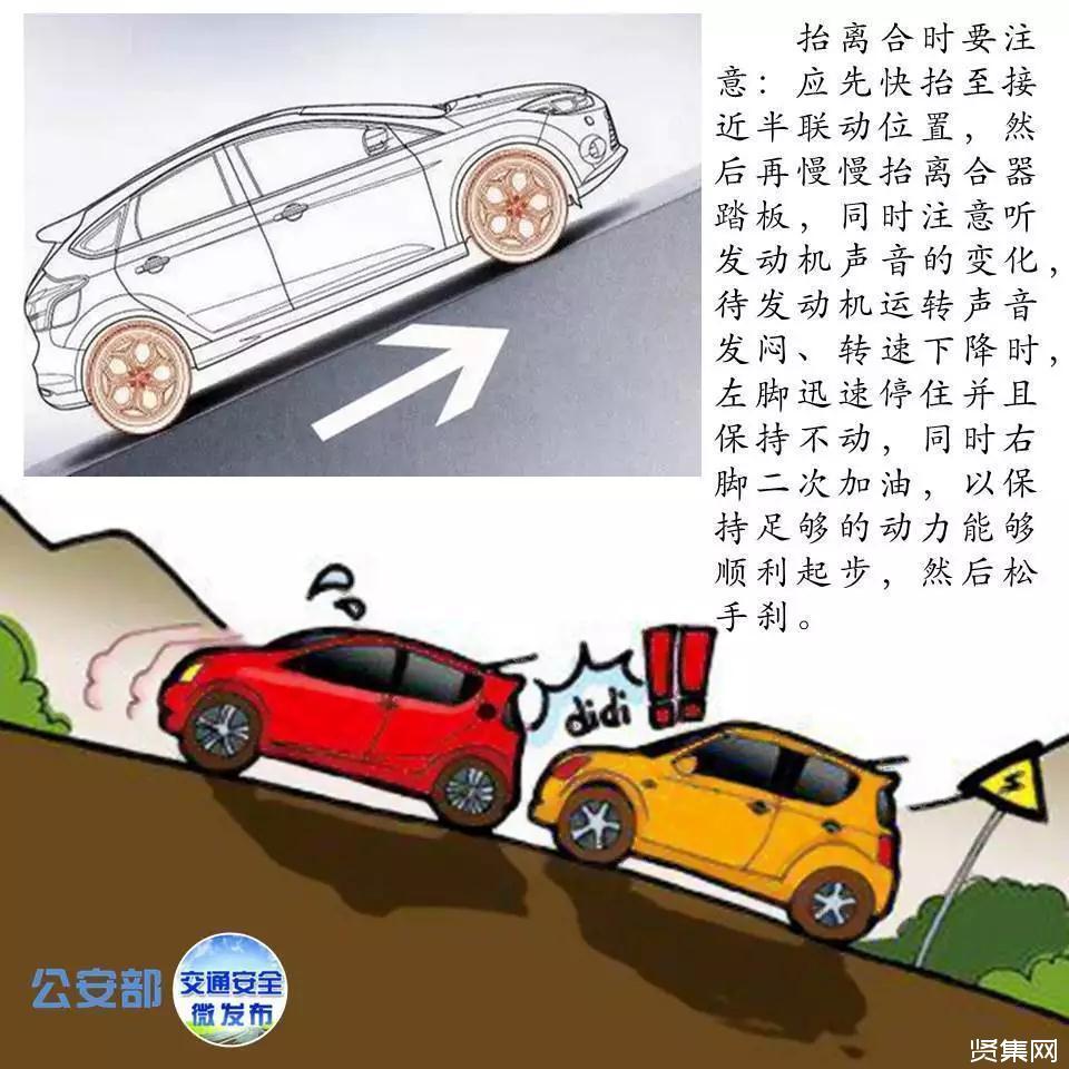 手动挡汽车起步步骤,手动挡停车的正确步骤【图解】