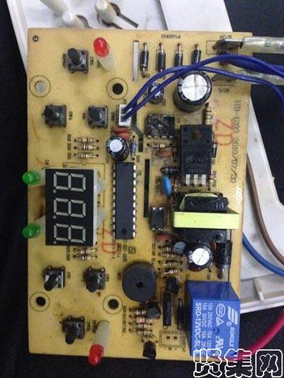 电磁炉电路板故障简单维修小方法