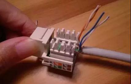 家庭版网线插座接法步骤