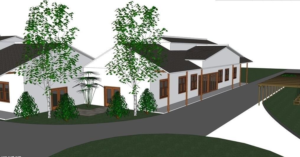 建筑园林空间设计