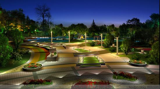 建筑园林中的照明设计要求