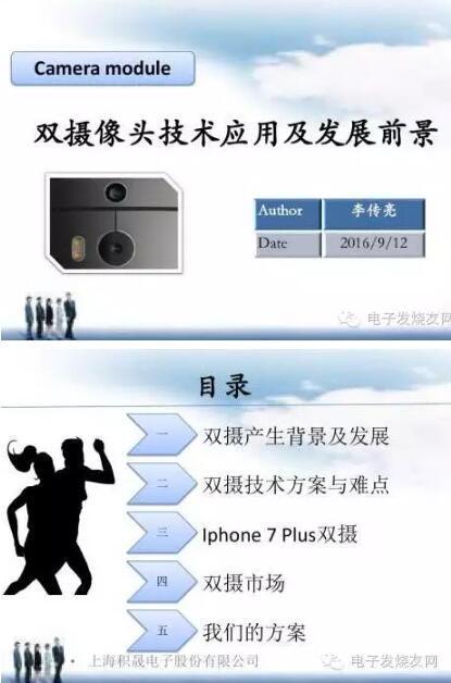 图解双摄像头手机技术应用趋势到底如何?