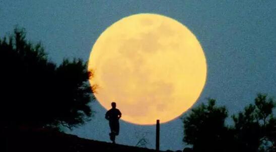 圆形月亮简笔画