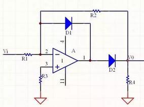 二极管精密整流电路分析