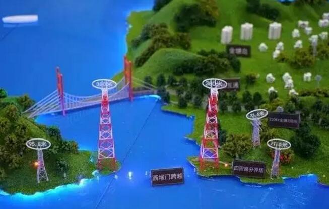 全球最高输电铁塔开建