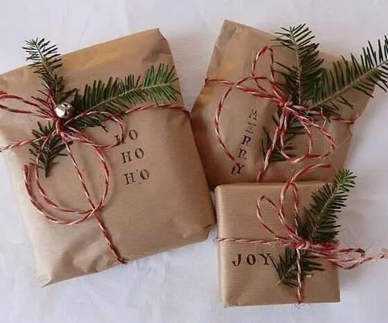 各种圣诞礼物包装分享(二)