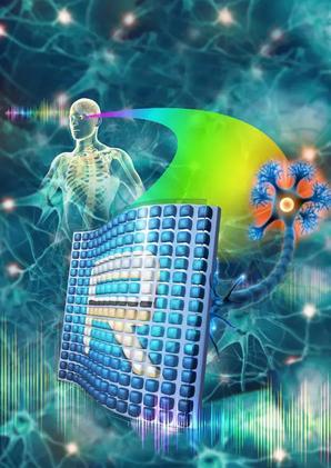 人造视网膜设计:将光转换成电信号后直接转导给神经元