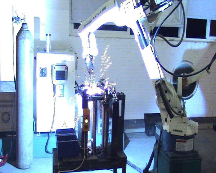 焊接机器人的特点