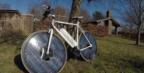 印度研发新型太阳能自行车 车辆污染降低60%