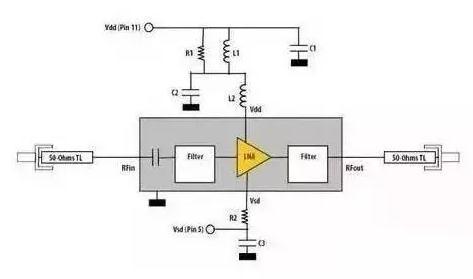 rf m67741放大电路