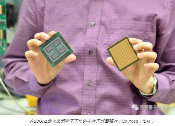 IBM携爱立信推出5G基站用硅基毫米波相控阵IC