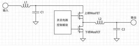 开关电源供电电路工作运行路线