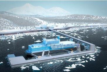 什么是海上浮动核电站与内陆核电站及建设规划