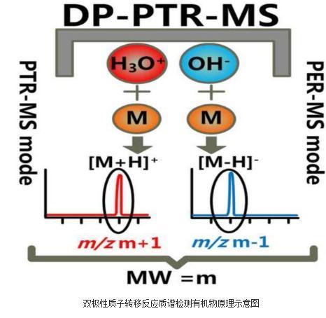 有机物和无机物的同时测量:质子提取反应质谱(PER-MS)技术