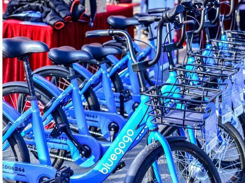 小蓝单车Bluegogo与与芝麻信用达成战略合作:700分以上免99元押金