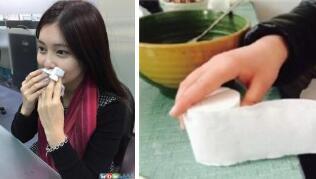 卫生纸擦嘴更卫生?卫生纸与面纸的制作差异
