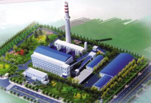 城发金桥调峰热源厂工程开工总投资6.45亿元