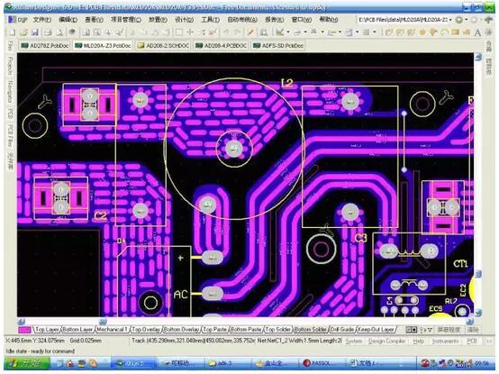 PCB设计铜铂厚度、线宽和电流关系
