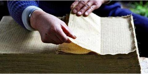 香龙手工舀纸工艺过程、历史兴衰