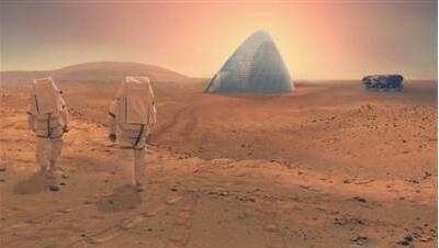 引用3D打印技术有望在火星盖房