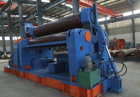 在进行冶金加工的过程中液压式三辊卷板机有哪些应用!