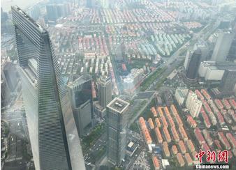 """""""上海之巅""""观光厅正式向公众开放"""