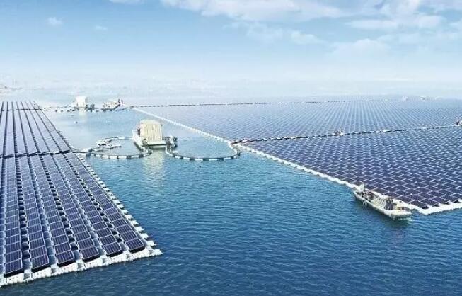 中国建成全球最大漂浮式太阳能电站规模40MW