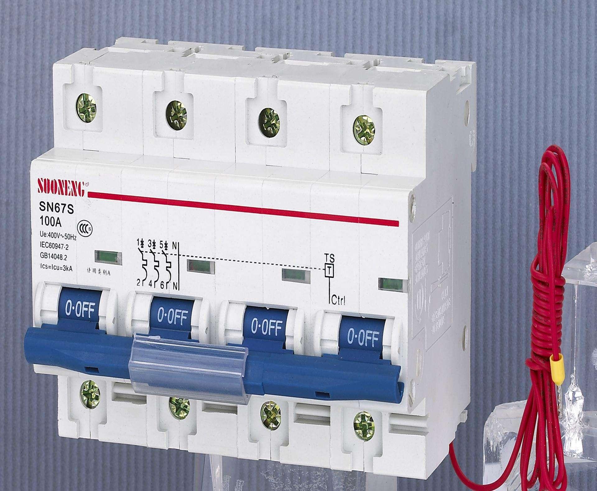 电能表外置断路器的工作原理及特点