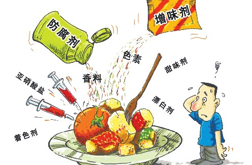 食品添加剂对人的危害