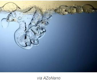 使用磁性纳米颗粒将油与水分离开来
