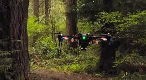 NVIDIA开发AI视觉导航系统无人机不需GPS也能自主飞行