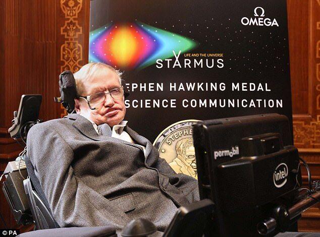 霍金:人类若想生存必须在200-500年间在太空找到新家