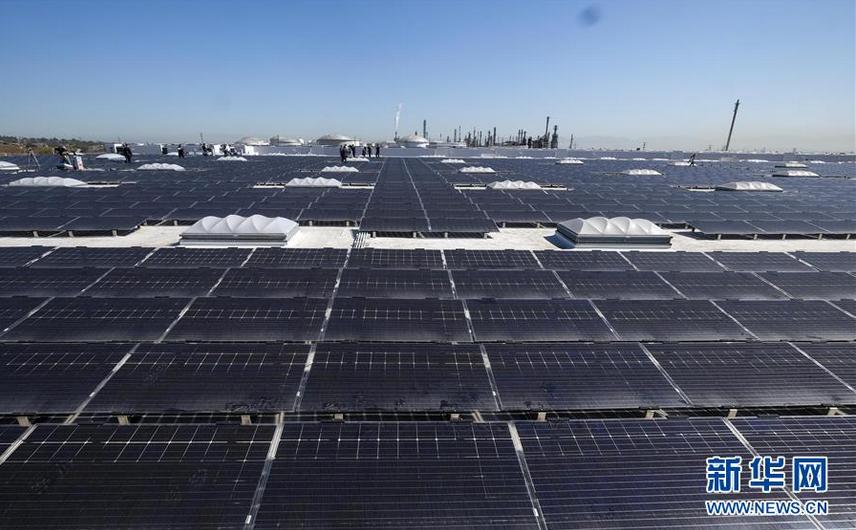 洛杉矶韦斯特蒙特太阳能屋顶项目建成