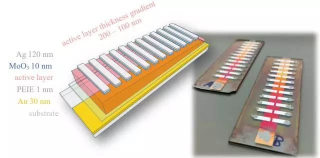 新型窄带有机近红外光探测器:有机体异质结体系在光谱用光探测器领域的创新应用