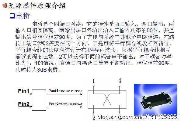 3dB是什么意思?3dB电桥的工作原理及(附上3d电桥的图片)