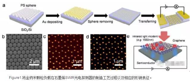 高响应的石墨烯基短波红外光电探测器中等离子体和俘获电子的协同机制
