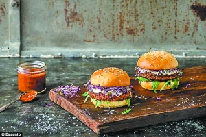 瑞士销售昆虫汉堡和昆虫丸子 原料是富含蛋白质的粉虱